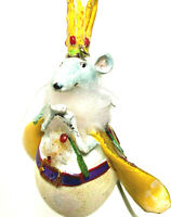 Krinkles Dept 56 Mouse King Figure by Patience Brewster Christmas Retired