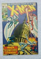Uncanny X-Men #64, FN 6.0, 1st Appearance Sunfire