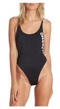 Billabong Legacy One-Piece Swimsuit Size L Black 9508