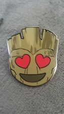 CHASER VARIANT SDCC 2017 Marvel Comic Con Emoji Mystery Pin HEART Groot Guardian