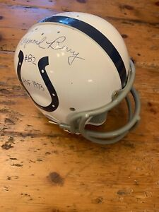 Baltimore Colt's Raymond Berry Autographed Riddell RK Replica Helmet and Facemas