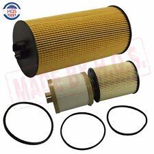 1 Fuel & 1 Oil Filter For 08-10 Powerstroke Diesel Engine 6.4L Turbo Diesel Kit