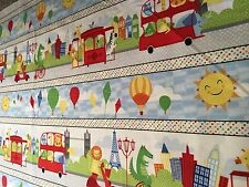 BIG CITY FRIENDS - COTTON FABRIC BY CAROLYN WEIDERHOLD FOR WILMINGTON FABRICS