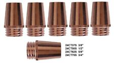 "5 Mig Welding Nozzles 24CT62S, 5/8"" Fit Tweco#3,#4 Lincoln Magnum 300-400"