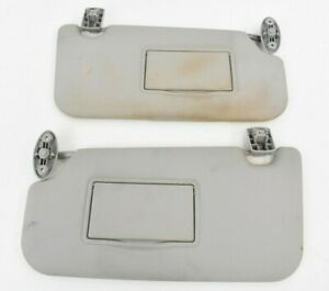 Ford Fiesta MK6 2002 - 2008 Sun Visors with Clips (Pair)