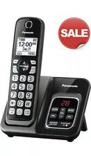 PANASONIC Expandable Cordless Phone System Call Block Answering Machine Black