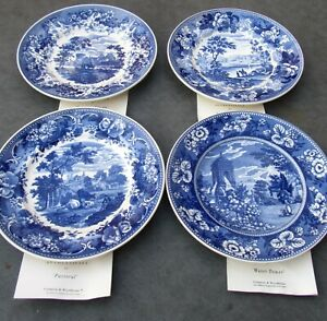 Wedgwood The Blue and White Collection - Set of 4 Plates