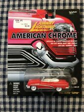 JOHNNY LIGHTNING 53 1953 BUICK SUPER CONVERT AMERICAN CHROME COLLECTIBLE CAR RRs