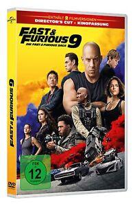 FAST AND & FURIOUS 9 DIE FAST & FURIOUS SAGA DIRECTOR'S CUT + KINOFASSUNG DVD