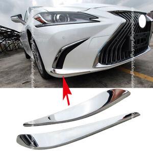 For Lexus ES350/300H 2018-2020 Car Front Bumper Corner Cover Trim anti-rub Lip