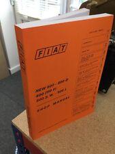 Fiat 500 (fábrica) instrucciones de servicio de reparación Taller Manual técnico