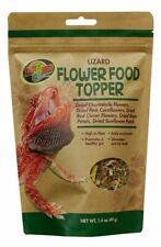 Zoo Med Lizard  Flower Food Topper 6g 40g For Lizards & Reptiles