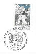 2002 TIMBRE CHAPELLE DE SAINT SER  N° 3496 OBLITÉRATION CACHET ROND