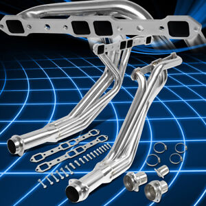For 77-78 Dodge B/D-Series 6.6/7.2 V8 2WD Pair Long Tube Header Manifold Exhaust
