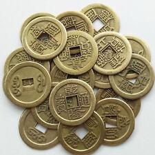 Chinese Feng Shui Lucky Coin Ten King Lucky Coin Health Fortune DIY Craft Decor