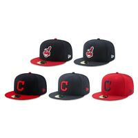 Cleveland Indians CLE MLB Authentic New Era 59FIFTY Fitted Cap - 5950 Hat