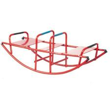 Dolls House Red Rocking Seesaw Teeter-Totter Miniature Toy Park Garden Accessory