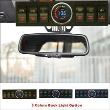 Apollointech Jeep Wrangler JK & JKU 2007-2018 Overhead 6-Switch Panel Red Light