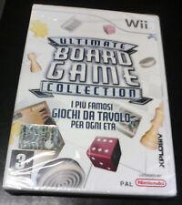 Ultimate BOARD GAME COLLECTION Nintendo WII EDIZIONE ITALIANA Nuovo SEALED