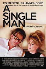 A SINGLE MAN Movie MINI Promo POSTER B Colin Firth Julianne Moore Matthew Goode