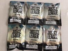 6 DC Justice League Blind Bags Batman Superman Wonder Woman Flash Aquaman Cyborg