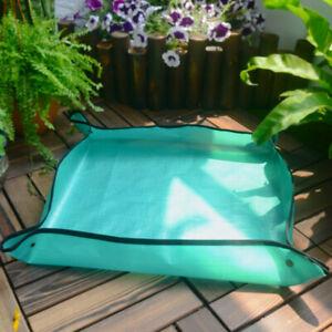 Foldable Gardening Mat Plant Seedling Repotting Tray Gardening Mat New