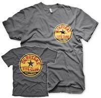 Ray Donovans Fite Club Hollywood Irish Boxer TV Serie T-Shirt Männer Men Grau