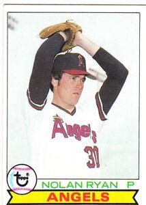 1979 Topps Baseball Card #115 Nolan Ryan California Angels - Ex-ExMt
