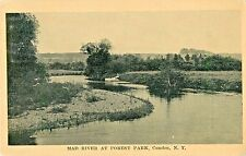 A View Of The Mad River At Forest Park, Camden NY 1916