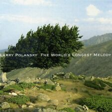 Larry POLANSKY World's Longest Melody CD New World ZWERM Guitar Ens microtonal