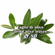 Foglie di Olivo/Ulivo intere per tisana DRIED OLIVE LEAVES 100% BIOLOGICHE g.80