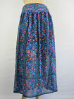 Crossroads Ladies Chiffon Split Maxi Skirt size 8 10 12 14 18 20 22 Floral Print