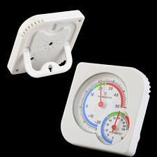 Indoor Nursery Baby House Mini Thermometer Wet Hygrometer Temperature Meter XG