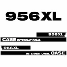 Case International 956 XL tractor decal aufkleber sticker set