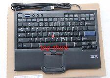 for IBM Thankpad SK-8845 travel USB standard keyboard+Trackpoint Hidden Line US