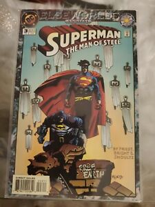 Superman: The Man of Steel Annual #3 (1994, DC) NM