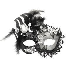Maschere neri per carnevale e teatro argento , prodotta in Cina