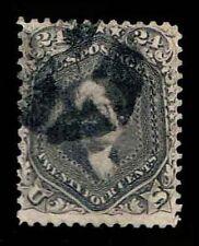 US.#78 Used .24c  Regular Issue of1862 - F/VF - CV$225.00  (ESP#6365)