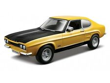 Ford Capri 1:32 Scale Yellow miniature car model Die Cast Cars Models METAL