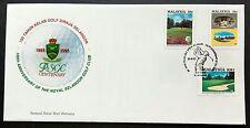 1993 Malaysia Centenary of Royal Selangor Golf Club FDC (minor toned) Lot D