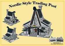 LEGO custom modular building instruction - Nordic Style Trading Post