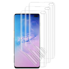 ✪ Samsung Galaxy S10+ Plus Screen Protector Full Coverage Edge to Edge◢ 3 Pack ◣