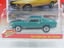 1970 Ford Mustang Mach 1 Johnny Lightning Jlmc001