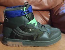 FILA Teenage Mutant Ninja Turtles TMNT Shoes  Size 7.5 Mens Hitop Sneakers