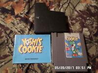 Yoshi's Cookie w/ Instruction Manual (Nintendo NES Game)
