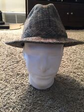 Vintage Fedora Hat W/ Feather