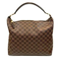 Auth LOUIS VUITTON Portobello GM Shoulder Hand bag N41185 Damier Brown Used LV