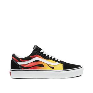 Vans Sneakers Ua Old Skool (Flame) Black Multicolor