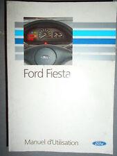 Ford FIESTA 1993 : notice d'entretien