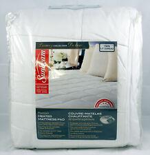 Sunbeam Premium Heated Mattress Pad Twin Size 10 Heat Settings 42644 New